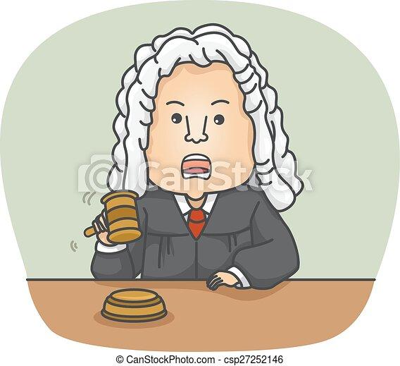 Man Judge - csp27252146