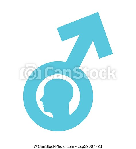 Man Male Symbol Silhpuette Icon Vector Illustration Icon