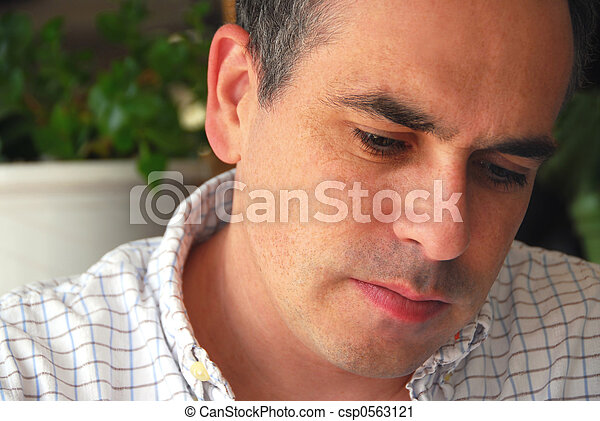 Man portrait - csp0563121