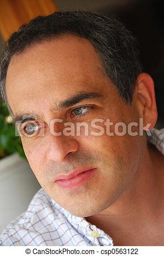 Man portrait - csp0563122