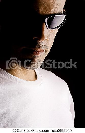 Man portrait - csp0635940