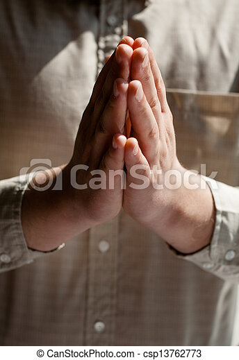 man praying - csp13762773