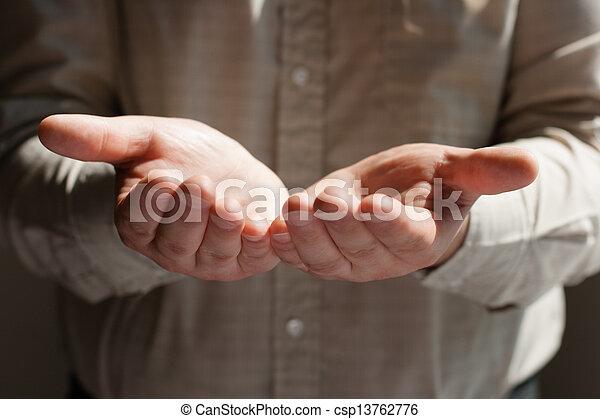 man praying - csp13762776