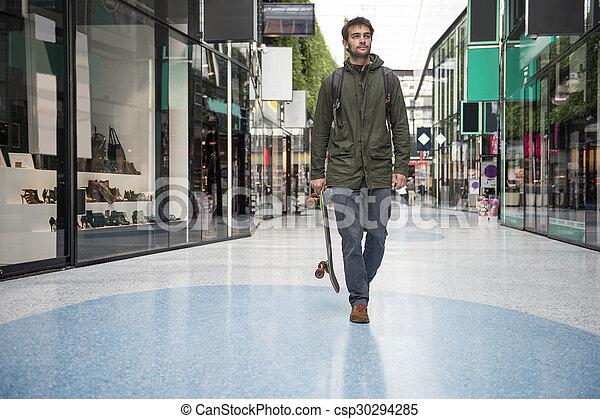 Man, stroll - csp30294285