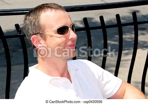 Man sunglasses - csp0430556
