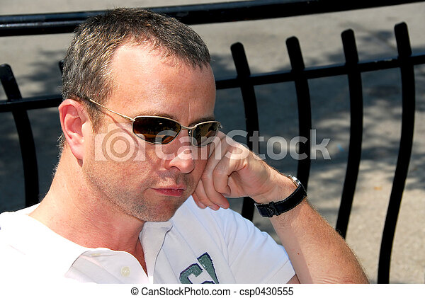 Man sunglasses - csp0430555