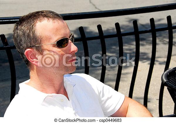 Man sunglasses - csp0449683