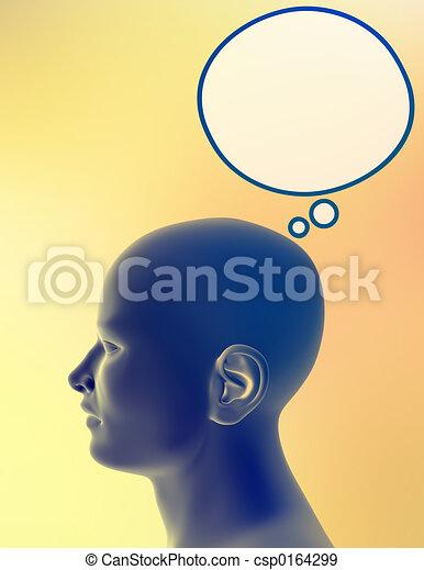 Man thinking - csp0164299