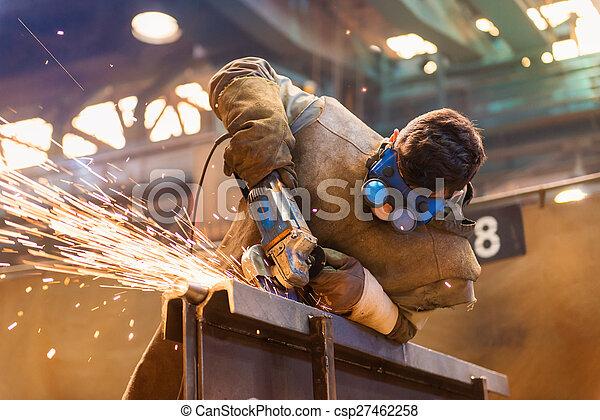 Man welding - csp27462258