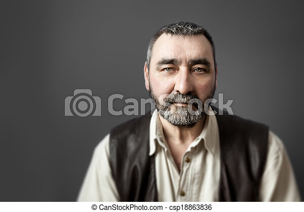 man with beard - csp18863836