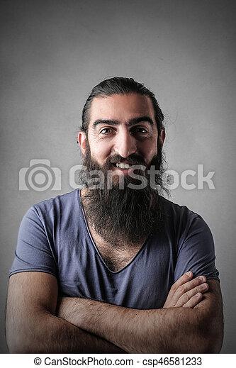 Man with beard - csp46581233
