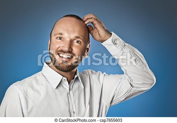 man with beard - csp7655603