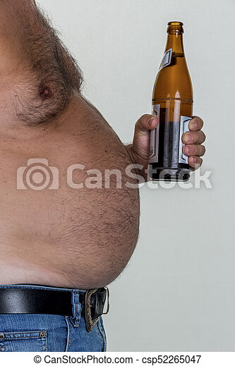 man with overweight - csp52265047