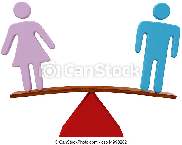 man woman equality sex gender balance equal man and woman sex rh canstockphoto com equity clip art equality clipart