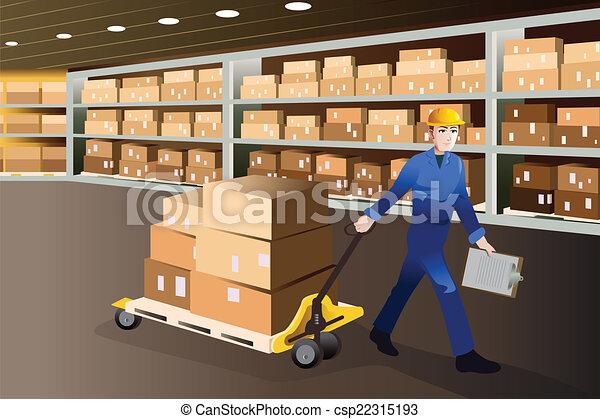 man working in a warehouse a vector illustration of man barcode clip art halloween barcode clip art halloween