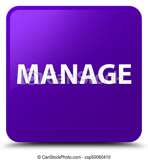 Manage purple square button - csp50060410