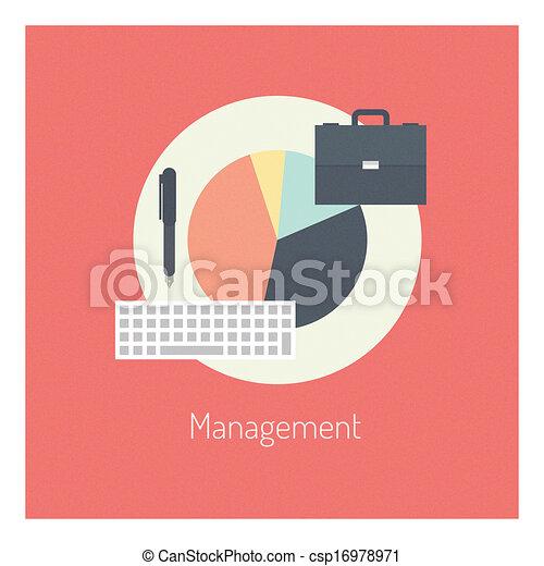 Management flat illustration concept - csp16978971