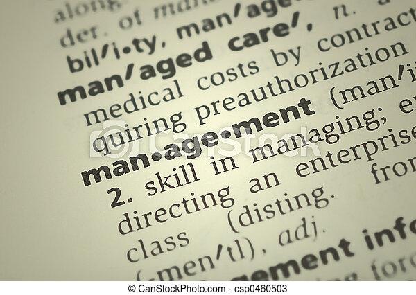 management - csp0460503