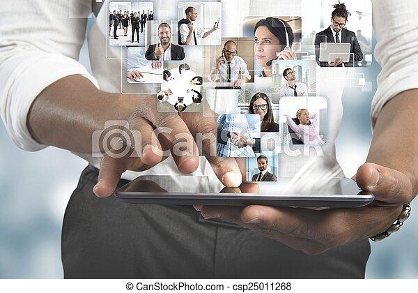 manager, mannschaft - csp25011268