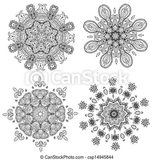 mandala, デザイン, あなたの - csp14945844