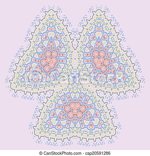 mandala, デザイン - csp20591286