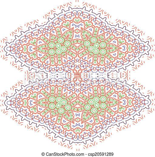 mandala, デザイン - csp20591289