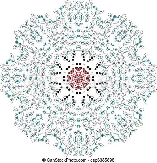 mandala, デザイン - csp6385898