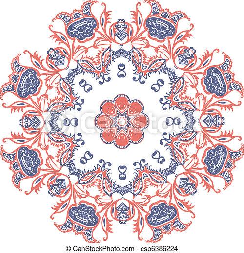 mandala, デザイン - csp6386224