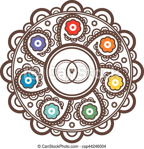 Mandala for wedding invitations and greeting cards tattoo style m4hsunfo