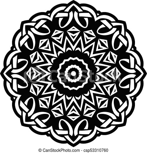 mandala pattern - csp53310760