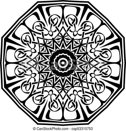 mandala pattern - csp53310753