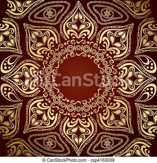 Mandala Pattern - csp4163039