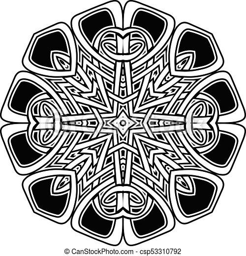 mandala pattern - csp53310792