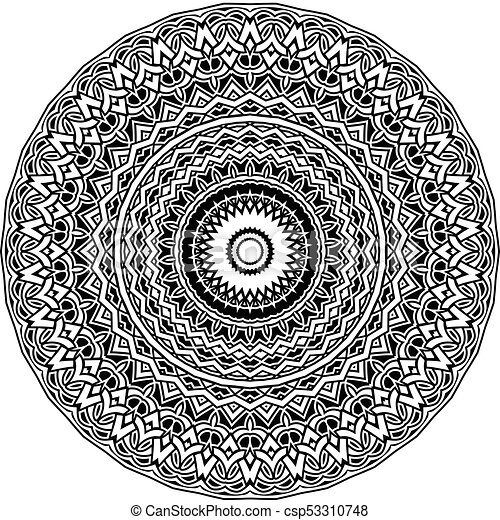 mandala pattern - csp53310748