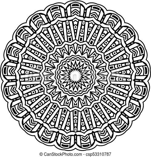 mandala pattern - csp53310787