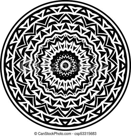 mandala pattern - csp53315683
