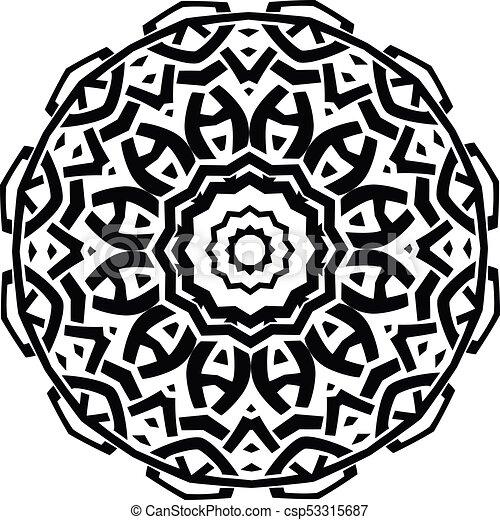 mandala pattern - csp53315687