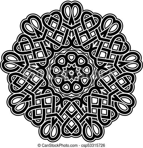 mandala pattern - csp53315726