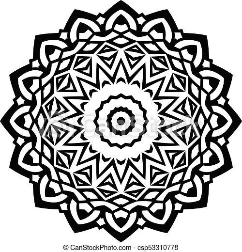 mandala pattern - csp53310778