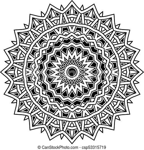 mandala pattern - csp53315719