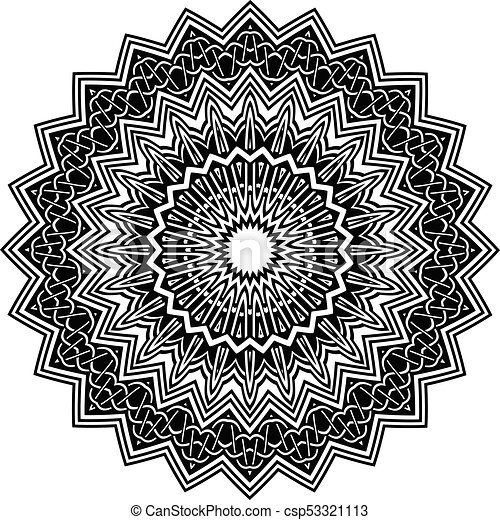 mandala pattern - csp53321113