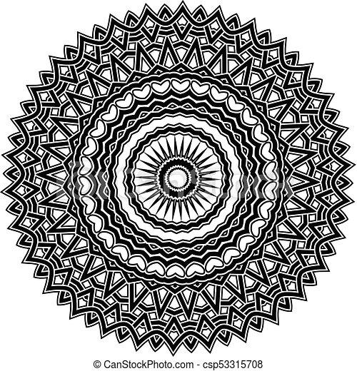 mandala pattern - csp53315708