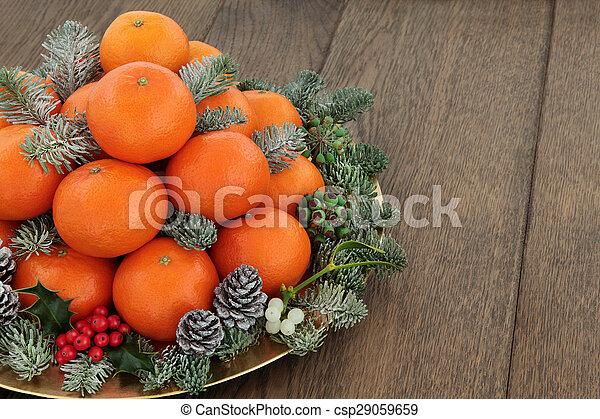 mandarin, satsuma, fruta, laranja - csp29059659