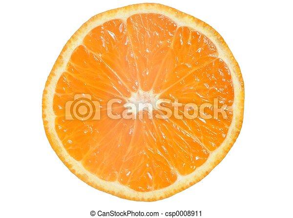 Mandarin Slice - csp0008911