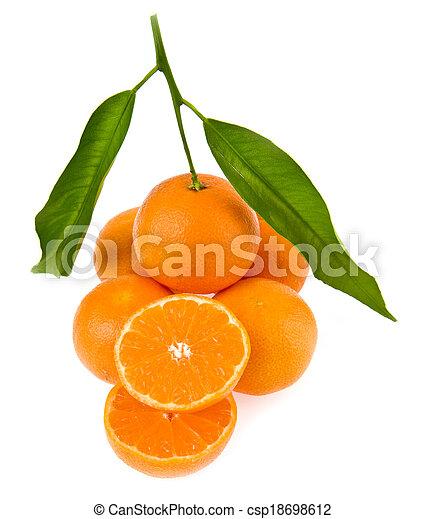 mandarine - csp18698612
