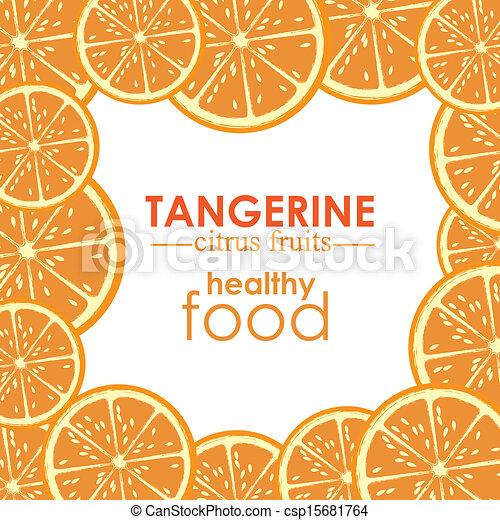 mandarino, frutta, agrume - csp15681764