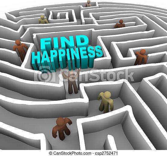 maneira, achar, felicidade, seu - csp2752471