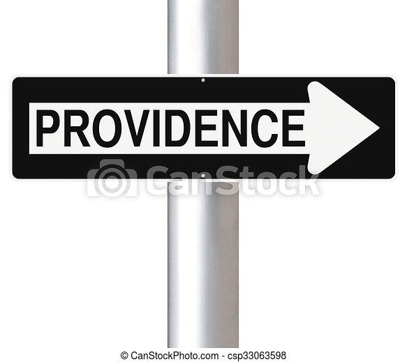 Por aquí a la providencia - csp33063598