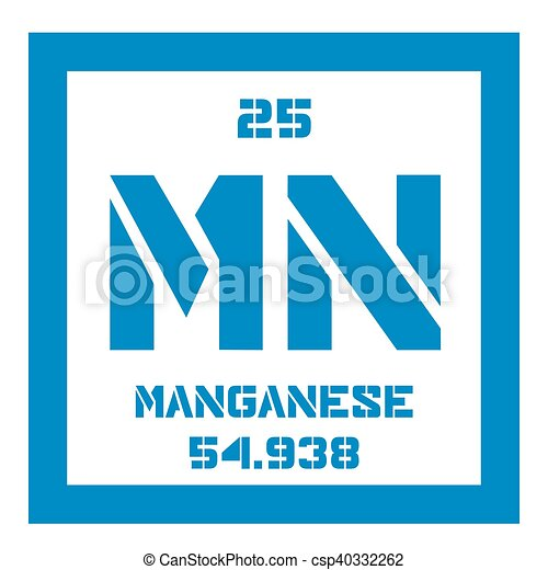 Manganese chemical element colored icon with atomic number and manganese chemical element colored icon with atomic number and atomic weight chemical element of periodic table urtaz Images