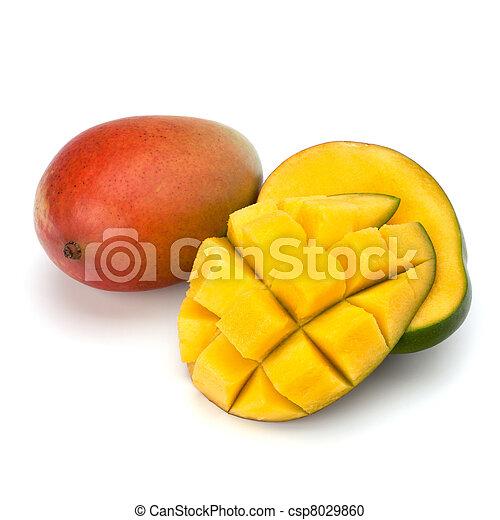 Mango fruit - csp8029860